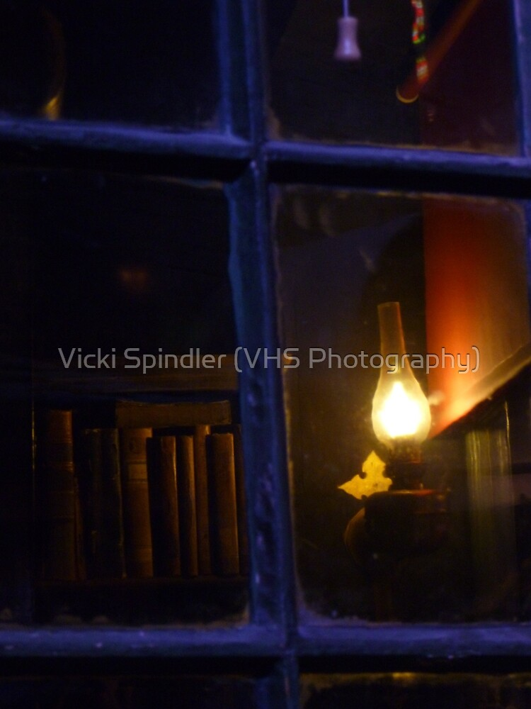 Through a dark window by Vicki Spindler (VHS Photography)