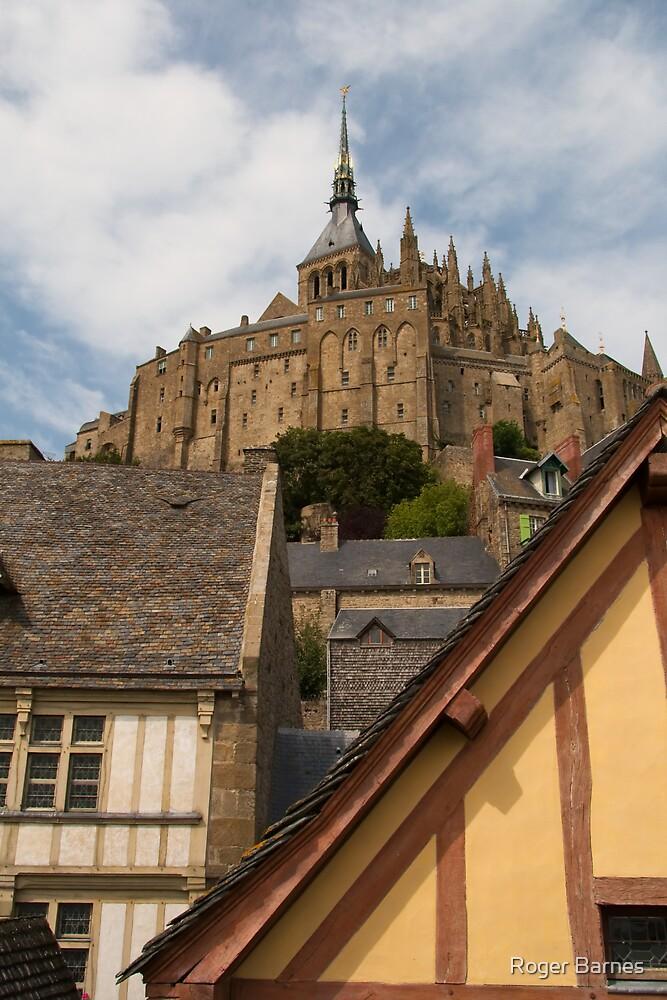 Mont Saint Michel (Normandy, France) by Roger Barnes