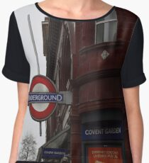 London Underground Women's Chiffon Top