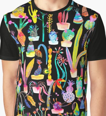 Lush and dreamy cacti garden Graphic T-Shirt