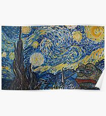 Starry Night by Pepelangelo Poster