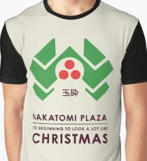 Nakitomi Plaza - Action movie Christmas Graphic T-Shirt