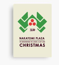 Nakitomi Plaza - Action movie Christmas Canvas Print