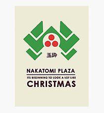 Nakitomi Plaza - Action movie Christmas Photographic Print