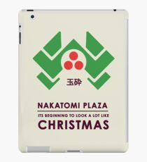 Nakitomi Plaza - Action movie Christmas iPad Case/Skin