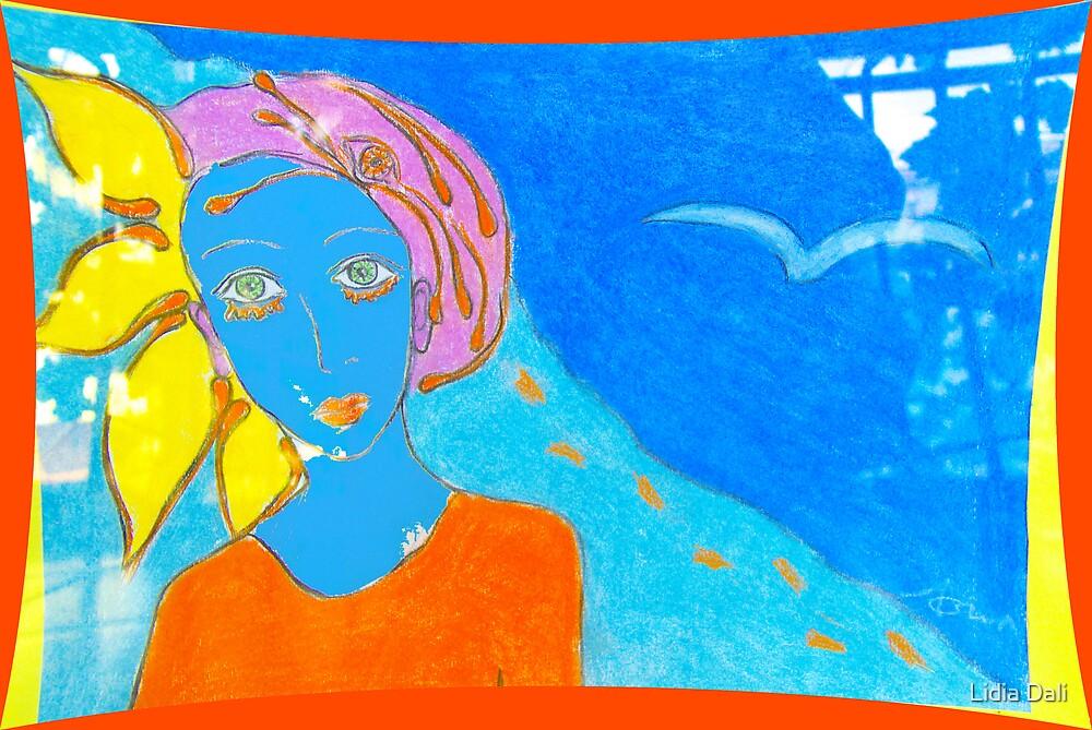She's Blue by Lidiya