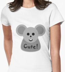 Cute! Women's Fitted T-Shirt