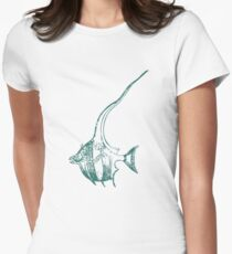 Vintage Fish 1881 Womens Fitted T-Shirt