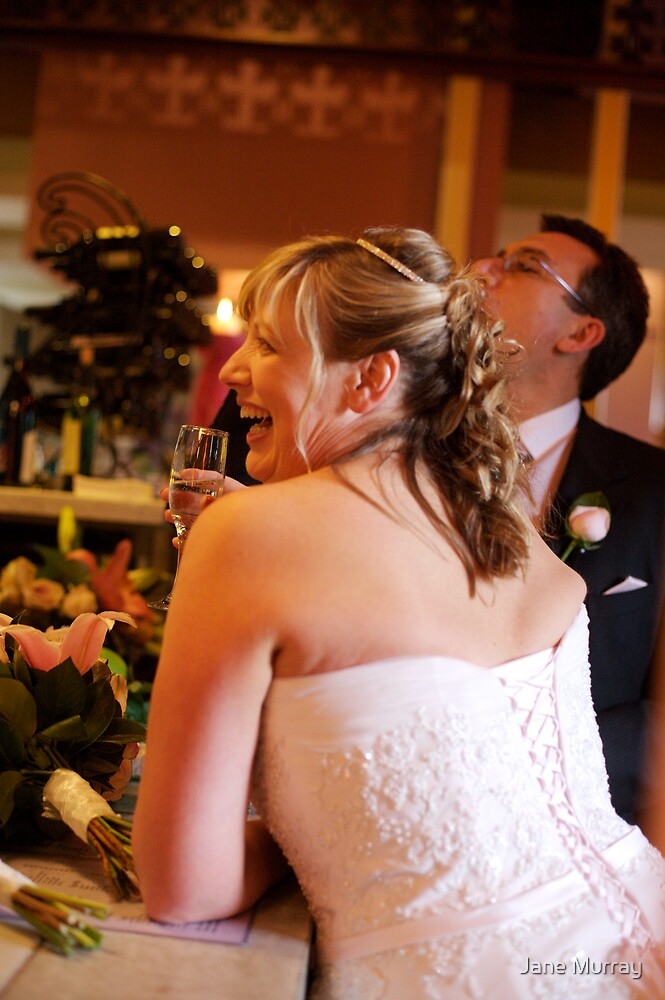 Daylesford wedding 2007  .. cheers by Jane Murray