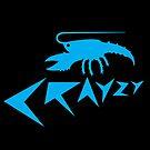 Crazy Blue Crayfish by vectoria