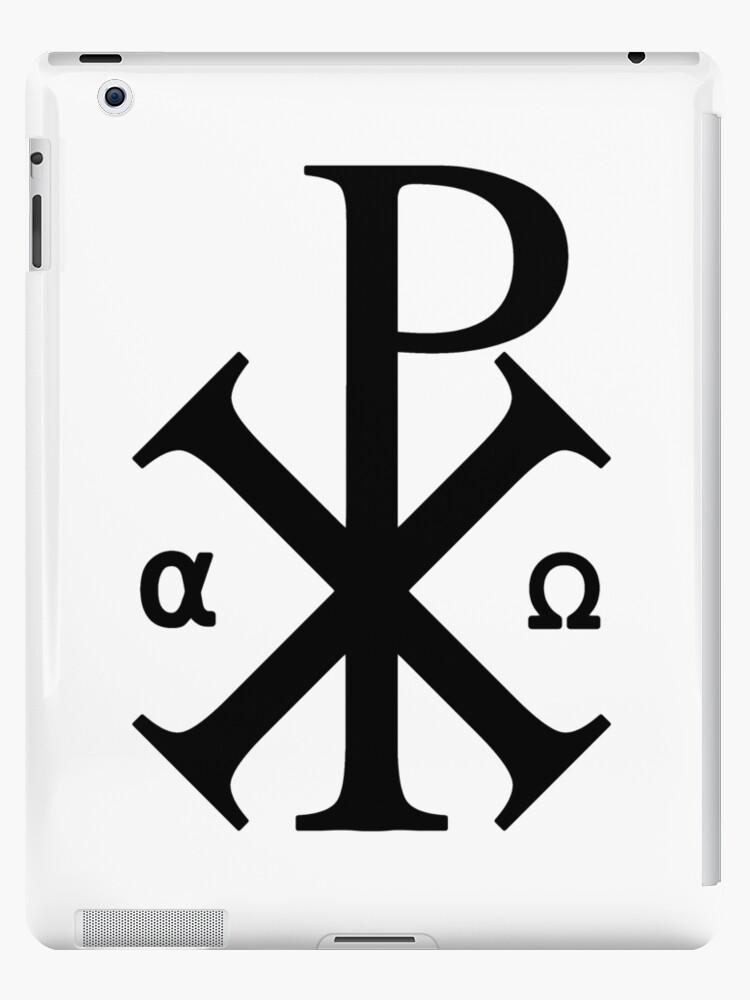 Chi Rho Symbol Ipad Cases Skins By Calgacus Redbubble