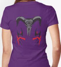 Tekken 3 Hwoarang - ROYAL TRI-BLEND Women's Fitted V-Neck T-Shirt