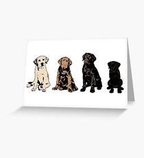 Rainbow of Puppy Love Greeting Card
