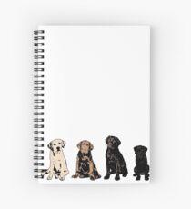 Rainbow of Puppy Love Spiral Notebook