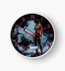 Tomb Raider Clock