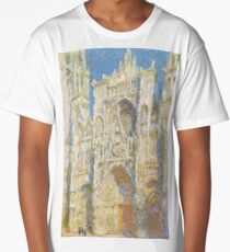Claude Monet - Rouen Cathedral, West Façade - 1894 Long T-Shirt
