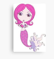 I Heart Mermaids - 1st of 4 Canvas Print