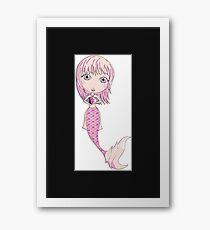 I Heart Mermaids - 4th of 4 Framed Print