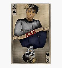 XXXTENTACION Card Photographic Print