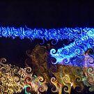 Blue Streak Swirls by steelwidow