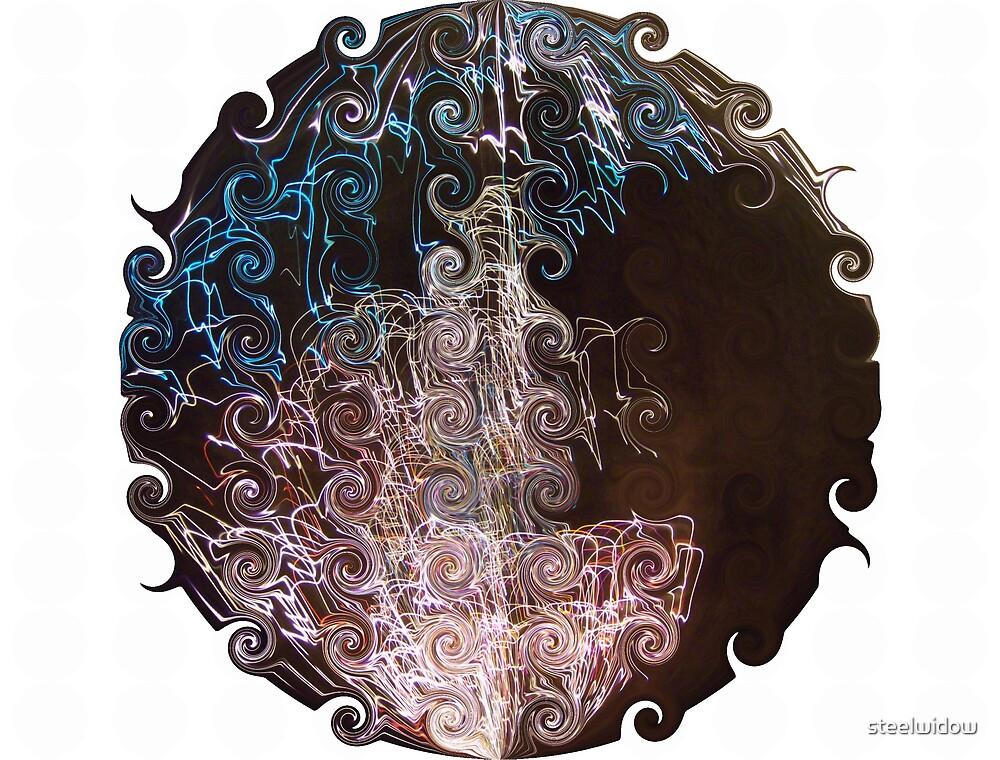 Spherical Swirls by steelwidow