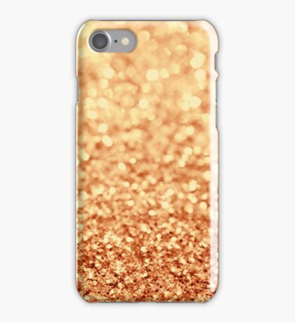 gold iPhone Case/Skin