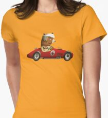 Bryan The Brown Bear Womens Fitted T-Shirt