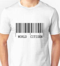 WORLD CITIZEN BARCODE T-Shirt