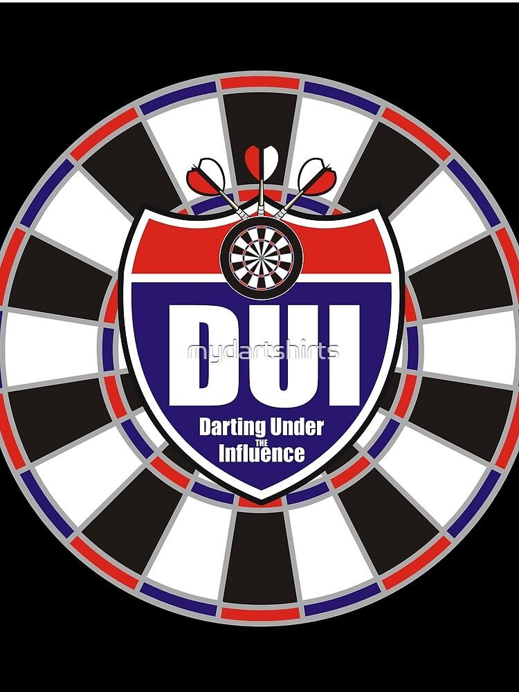 Darting Under the Influence Darts Team by mydartshirts