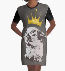 Grumpy Bunny Graphic T-Shirt Dress