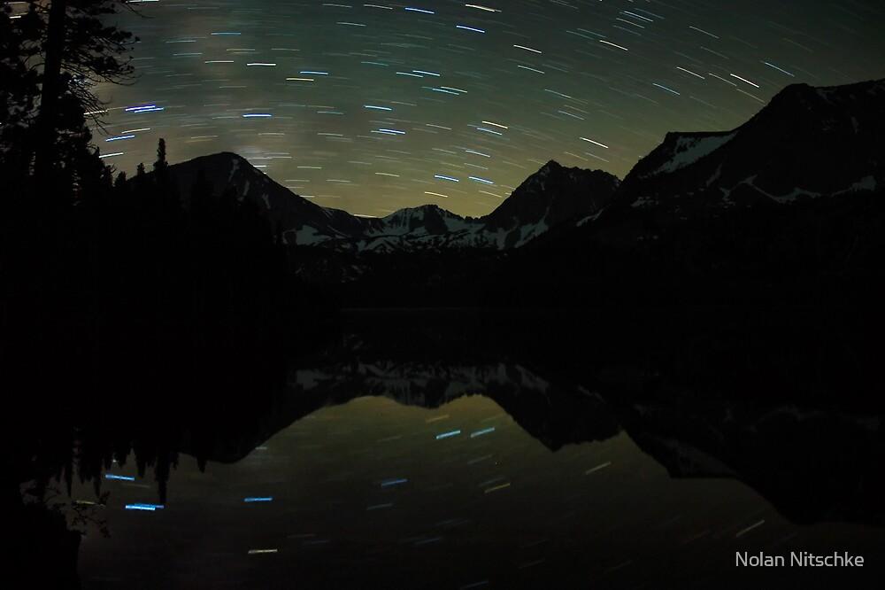 Davis Lake Star Trails by Nolan Nitschke