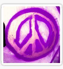 Peace Sign 01 peaceandbewild Sticker