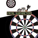 Fatal Subtraction Darts Team by mydartshirts