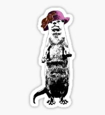 I Really Otter Be Going Now Sticker