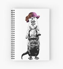 I Really Otter Be Going Now Spiral Notebook