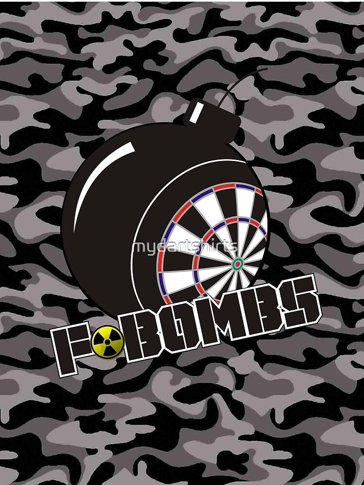 F-Bombs Darts Team by mydartshirts