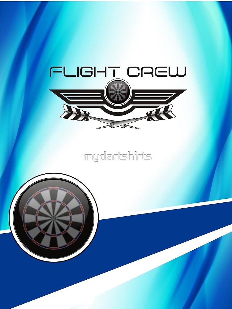 Flight Crew Darts Team by mydartshirts