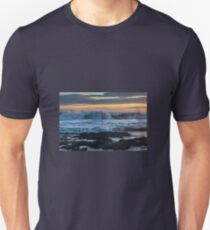 Rough Seas at Sunset T-Shirt