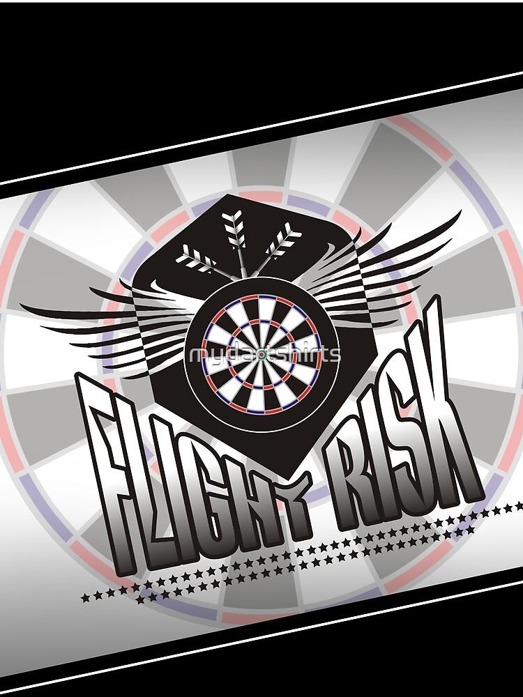 Flight Risk Darts Team by mydartshirts