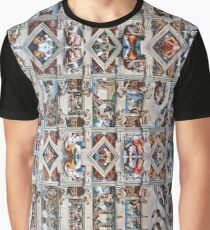 Sistine Chapel Ceiling Graphic T-Shirt
