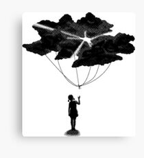 Let Go The Dark Clouds Canvas Print