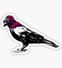 Here's To You Mrs. Raven Sticker