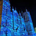 4 illuminations Cathédrale de Poitiers Par kolektifalambik.net - Photos  panasonic fz 2000 par Okaio Créations by Olivier Caillaud