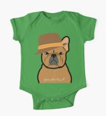 Frenchie Hipster by Frenchie Love One Piece - Short Sleeve