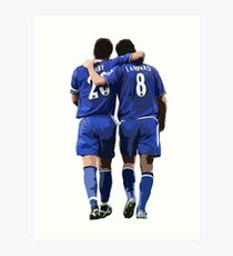 Terry and Lampard Artwork Art Print