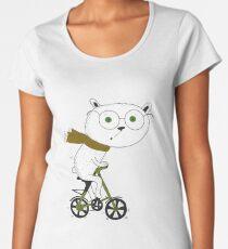 To ride the bike is my lifestyle! Women's Premium T-Shirt