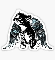 Angel Kitty Sticker