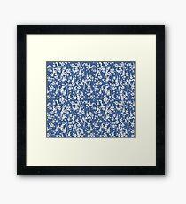 Matisse inspired Papercut Garden Framed Print
