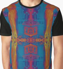 Theda Bara Psychedelic Cleopatra Graphic T-Shirt