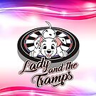 Ladies, Triples And Tramps Darts Team by mydartshirts